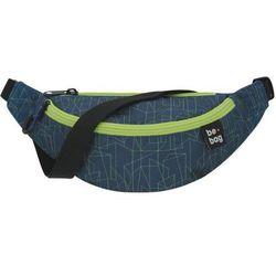 Saszetka nerka Be.Bag Be. Agile Geo Lines Blu