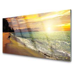 Obraz Akrylowy Słońce Plaża Morze Krajobraz
