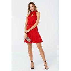 Sukienka Bellis w kolorze czerwonym