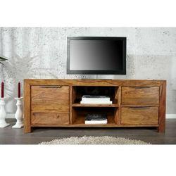 INVICTA szafka pod telewizor LAGOS - 135 cm Sheesham, drewno naturalne