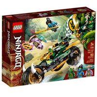 Klocki dla dzieci, Lego NINJAGO Dżunglowy chopper lloyda 71745