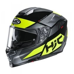 HJC KASK INTEGRALNY R-PHA-70 DEBBY GREY/FLO YELLOW