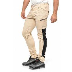 Spodnie do pasa TUBBOS w kolorze piaskowo-czarnym