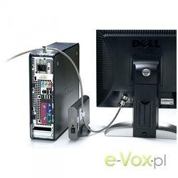 Linka zabezpieczająca Kensington Desktop & Peripherals Locking Kit (PC) (K64615EU) Darmowy odbiór w 21 miastach!