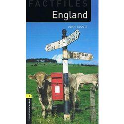 England The Oxford Bookworms Library Factfiles Stage 1 (400 Headwords) (opr. miękka)