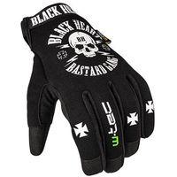 Rękawice motocyklowe, Rękawice motocyklowe W-TEC Black Heart Radegester, Czarny, 4XL