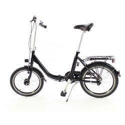 Aluminiowy rower składany SKŁADAK niska rama MIFA 3 biegi Nexus SHIMANO z prądnicą