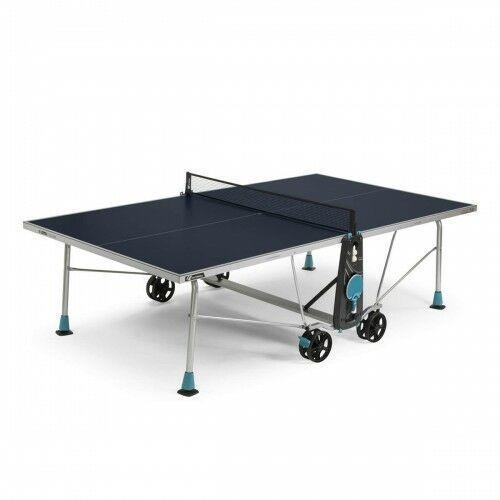 Tenis stołowy, CORNILLEAU STÓŁ TENISOWY 200X OUTDOOR NIEBIESKI