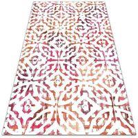 Dywany, Dywan zewnętrzny tarasowy wzór Dywan zewnętrzny tarasowy wzór Koła i romby