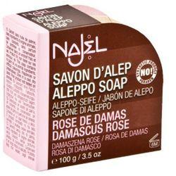 Najel mydło Aleppo Róża Damasceńska BIO 100g