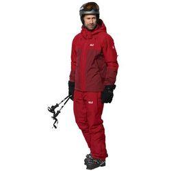 Narciarska kurtka męska POWDER MOUNTAIN JACKET M dark lacquer red - XL