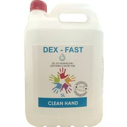 Żel do dezynfekcji rąk DEX-FAST poj. 5 l