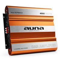 Wzmacniacze samochodowe, Auna 4000W 4-kanałowy wzmacniacz samochodowy MOSFET