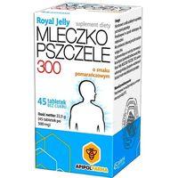 Leki na gardło, Mlecz.pszcz.ROYAL JELLY 300 mg tabl.do ssania - 45 tabl.