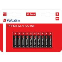Baterie, BATERIA VERBATIM ALKALICZNA LR3 AAA (10 SZT BLISTER)