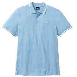 Shirt polo Regular Fit bonprix lodowy niebieski
