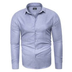 Koszula męska długi rękaw C.S.S 275 - błękitna