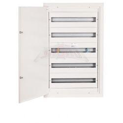Rozdzielnica modułowa 5x24 podtynkowa 120 modułów IP31 525x865x127 Biała z zamkiem RPSM 120 Z 5X24