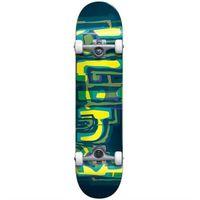Pozostały skating, zestaw BLIND - Logo Glitch Fp Complete Green/Yellow (GREEN-YELLOW) rozmiar: 7.875