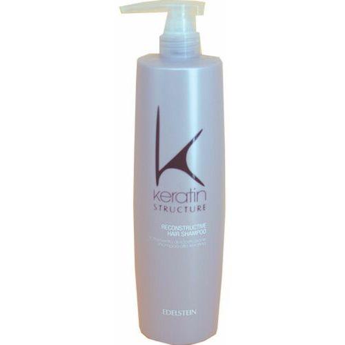 Mycie włosów, Edelstein KERATIN STRUCTURE RECONSTRUCTIVE HAIR SHAMPOO Restrukturyzujący szampon keratynowy (750 ml)