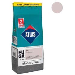 Fuga cementowa 202 popielaty 2 kg ATLAS