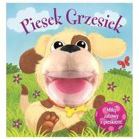 Książki dla dzieci, Piesek Grzesiek - pacynka - Opracowanie zbiorowe (opr. twarda)