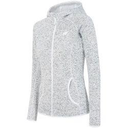 Bluza polarowa damska 4F PLD002 jasny szary melanż 4f na m14 (-36%)