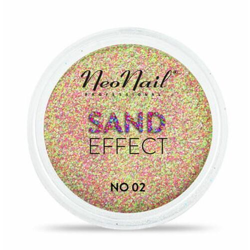 Ozdoby na paznokcie, NeoNail SAND EFFECT Pyłek No 02