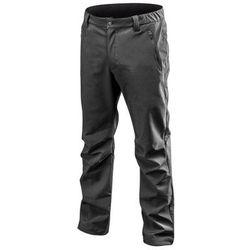Spodnie robocze SOFTSHELL ocieplane czarne S NEO