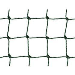 Siatka na ogrodzenia boisk. Piłkołap polietylenowy oko 48mm x 48mm splotka fi 2,5mm.