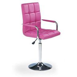 Fotel młodzieżowy obrotowy HALMAR GONZO różowy