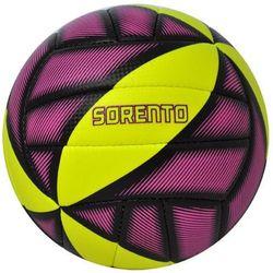 Piłka siatkowa AXER SPORT Sorento Żółto-fioletowy (rozmiar 5)