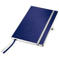 Notesy, Notatnik Leitz Style A5 80 kratka miękka oprawa niebieski 44880069