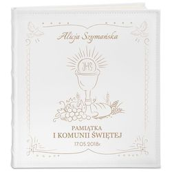 Album Pamiątka I Komunii GRAWER Prezent PR446