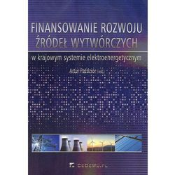 Finansowanie rozwoju źródeł wytwórczych w krajowym systemie elektroenergetycznym (opr. miękka)