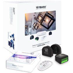 Fibaro Zestaw inteligentnego sterowania oświetlenia: Home Center Lite, Double Switch 2 x3, KeyFob