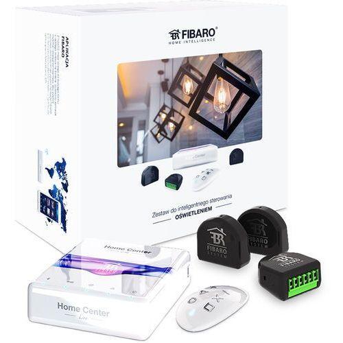 Pozostałe systemy domowe, Fibaro Zestaw inteligentnego sterowania oświetlenia: Home Center Lite, Double Switch 2 x3, KeyFob