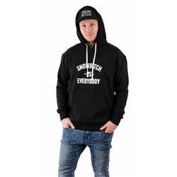 bluza SNOWBITCH - Everybody Hoody Black (BLACK) rozmiar: M