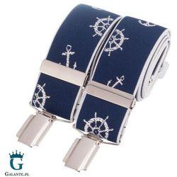 Szelki do spodni Marynarskie niebieskie BR-045