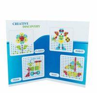 Kreatywne dla dzieci, Mozaika - 180 części zestaw ze śrubokrętem