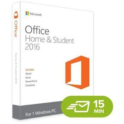 Office 2016 Home and Student (79G-04294) elektroniczny certyfikat