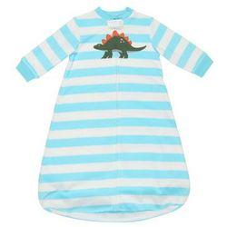 Carter's SLEEPBAG STRIPE DINO Śpiworek dla dzieci turquoise