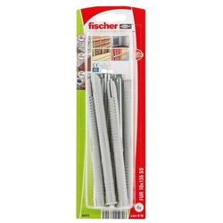 Kołki ramowe Fischer FUR 10 x 135 mm z wkrętem kluczowym 4 szt.