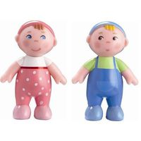 Lalki dla dzieci, HABA Little Friends Family - Dzieci Max i Marie 302010