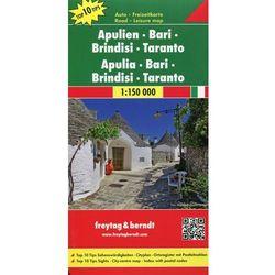 Apulien Bari Brindisi Taranto Freytag & Berndt (opr. kartonowa)