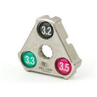Narzędzia rowerowe i smary, Klucz do centrowania kół Bike Hand YC-1A trójkątny