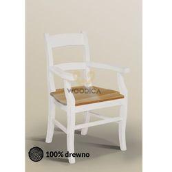 Fotel Nicea 35 z dębowym siedziskiem Uwaga! Tylko teraz cena promocyjna