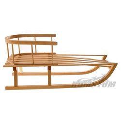 Sanki drewniane z oparciem bukowe Sanki Sank31 drewniane bukowe (-24%)