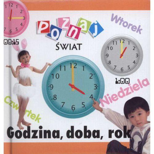 Książki dla dzieci, Godzina, doba, rok. Poznaj świat