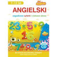 Książki do nauki języka, Angielski Zagadkowe cyferki i ciekawe słowa 7-12 lat Książka + CD (opr. miękka)